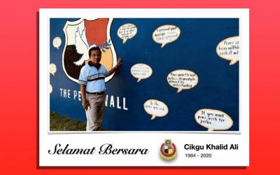 Selamat Bersara Cikgu Khalid