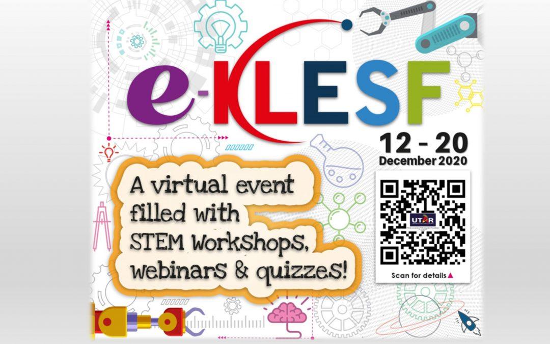 Empat pelajar MCKK dalam webinar di e-KLESF 2020